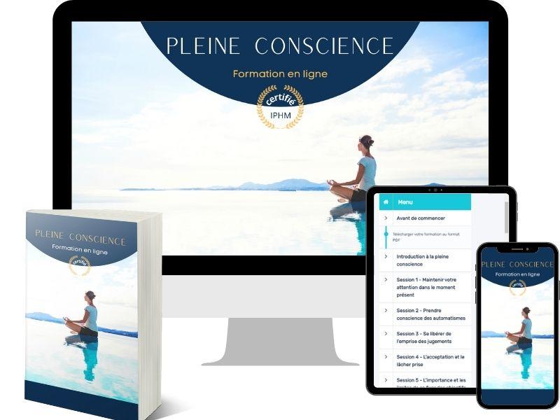 Bundle de la formation en ligne de Pleine Conscience