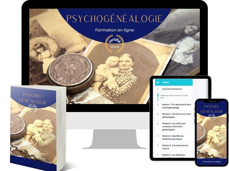 Bundle de la formation en ligne de psychogénéalogie