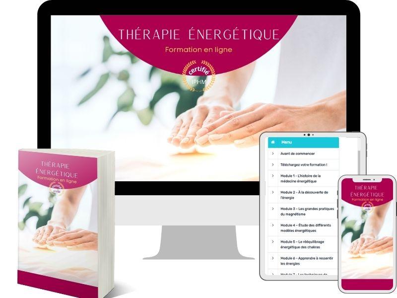 Bundle de la formation en ligne de Thérapie énergétique
