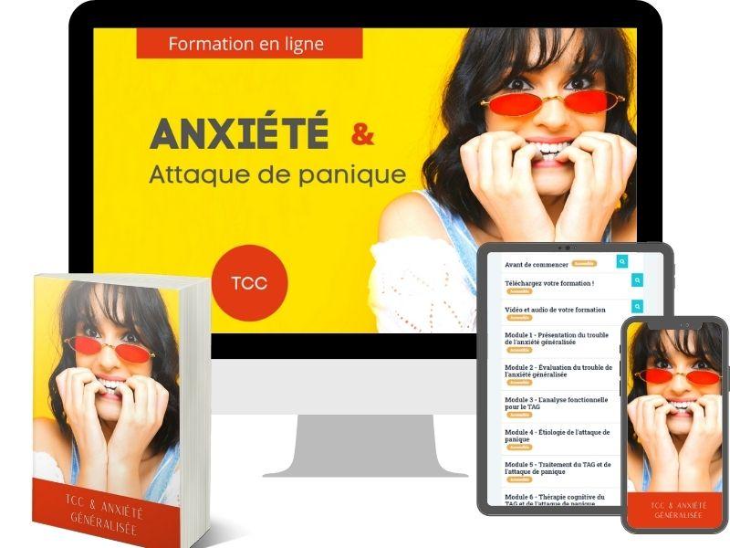 Trouble de l'anxiété généralisé formation en ligne